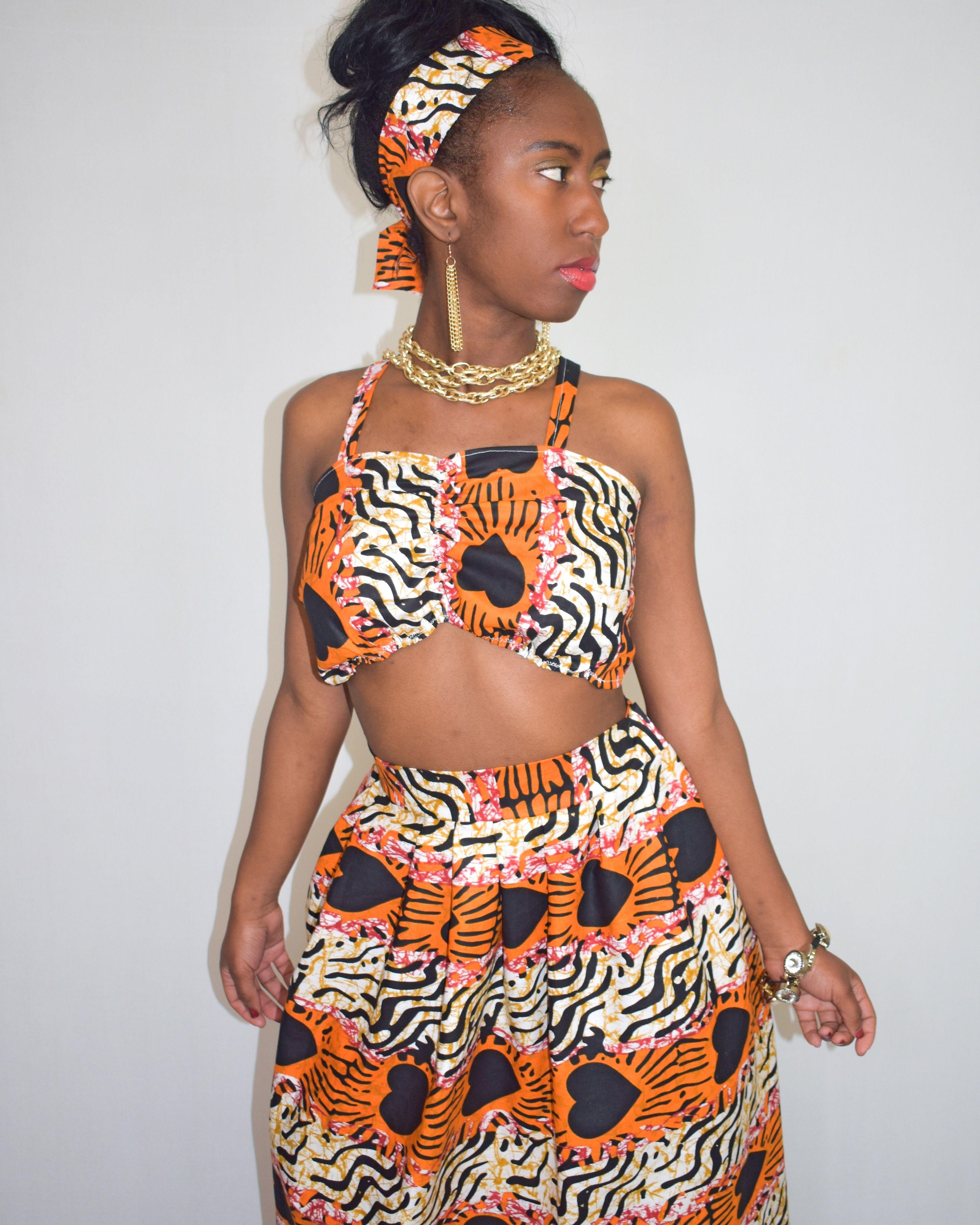 6ba3cc480f African Print Maxi Skirts And Dresses | Saddha