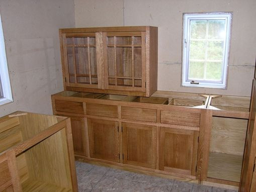 Custom Made Maryland Craftsman Kitchen