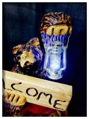Custom Made Lantern Bear