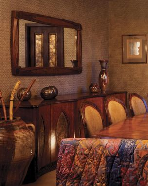 Custom Made Dining Room Furniture : Dining Table, Buffet, Mirror