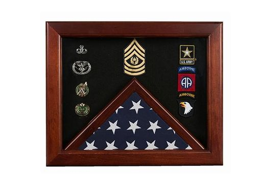 Custom Made Federal Flag Display Case