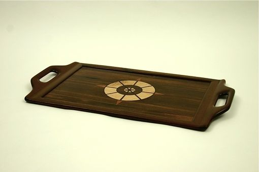 Custom Made Reclaimed Teak Serving Tray #2