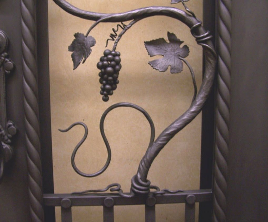 Hand Made Grape Vine Wine Cellar Door By Keuka Studios
