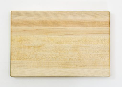Custom Made Hardwood Maple Edge Grain Cutting Board | Personalized Engraving