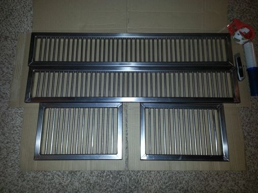 Custom Made Custom Stainless Steel Grill Rack