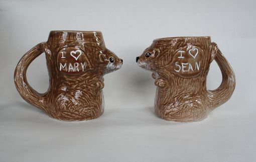 Custom Made Animal Mug Sets