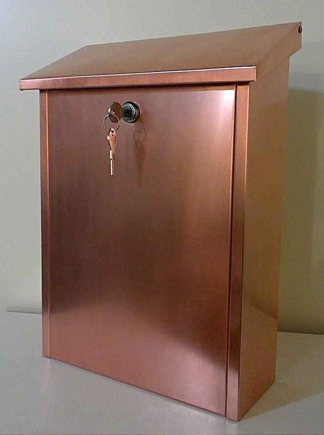 Hand Made Lockable Wall Mounted Mail Box Extra Large By