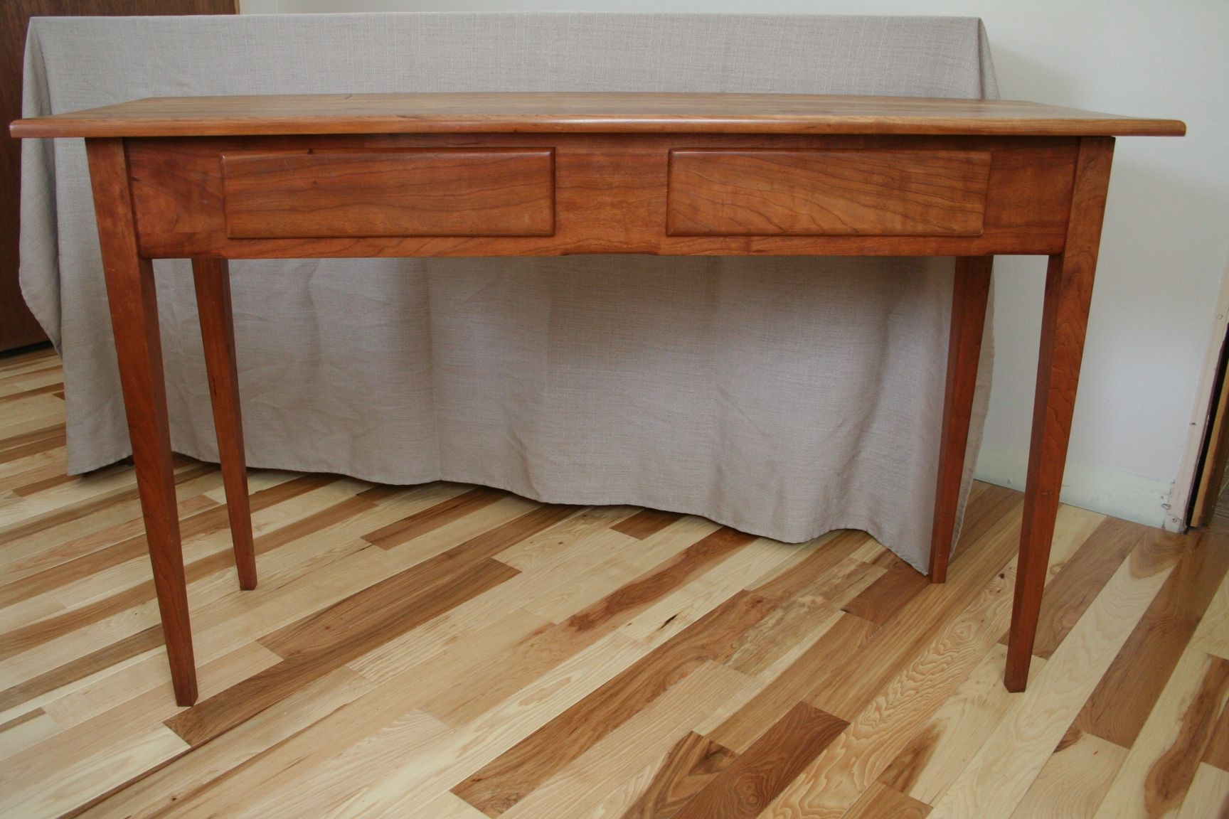 Pleasant Custom Shaker Style Library Table By Wooden Goose Download Free Architecture Designs Scobabritishbridgeorg