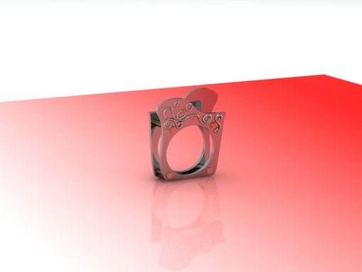Custom Made Architectural Fashion Ring