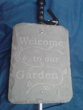 Custom Made Custom Slate Sign