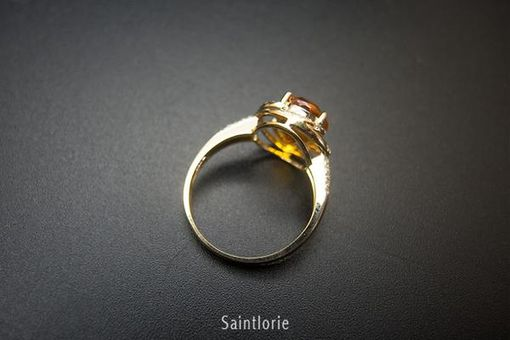 Custom Made 1.8 Carat Sapphire Engagement Ring