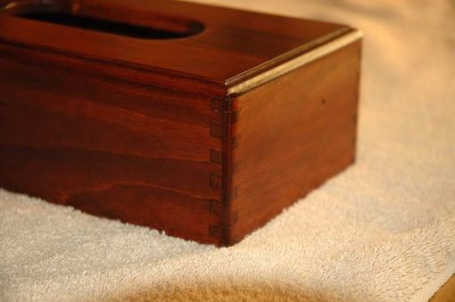 Custom Made Maple Tissue Box Cover