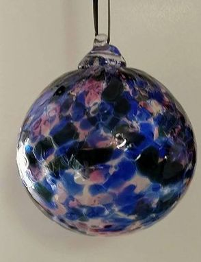 Custom Made Blown Glass Christmas Ornaments