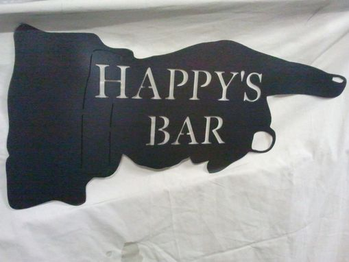 Custom Made Bar And Mancave Signs