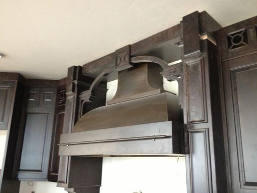 Custom Made Steel Range Hood