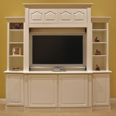 Custom Made Simple Entertainment Cabinet
