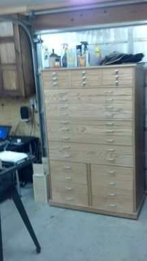 Custom Made Personal Fine Tool Cabinet