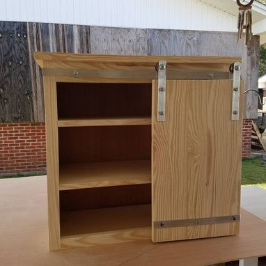 Custom Made Accessory Cabinet For Storing Towels