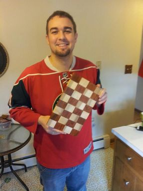 Custom Made Checkered Cutting Board