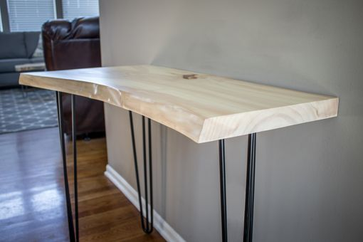 Custom Made Live Edge Sofa Table/Console Table