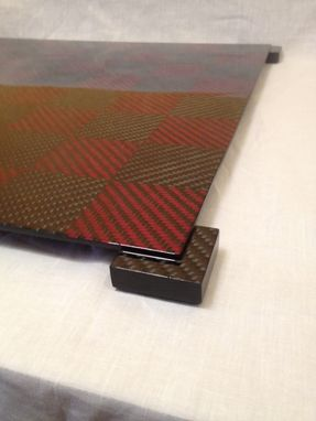 Custom Made Carbon Fiber Chess Board - Small