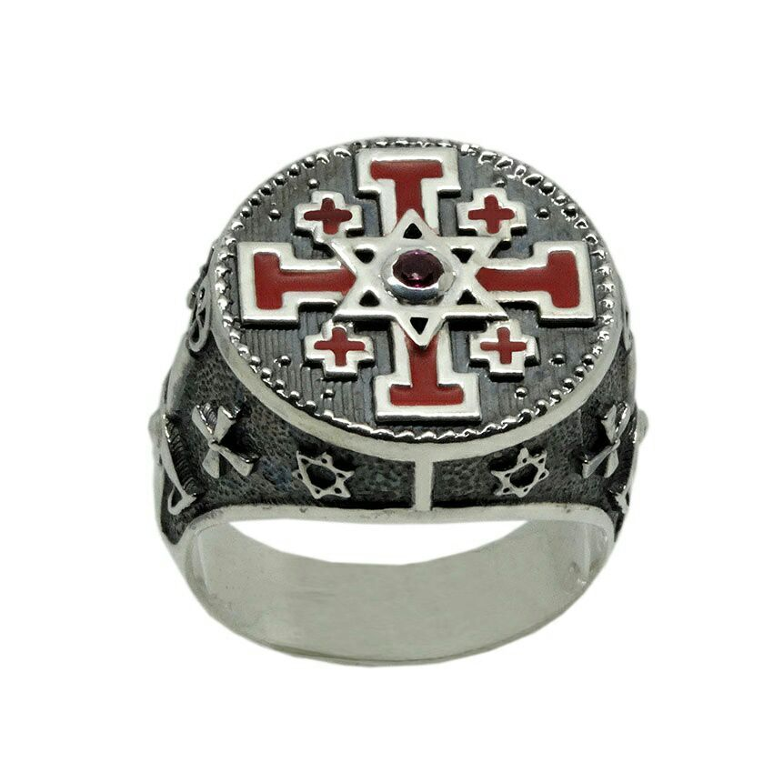 Buy A Hand Crafted Knight Templar Jerusalem Cross Star Of
