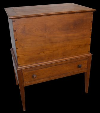 Custom Made Handcrafted Sugar Chest In Cherry