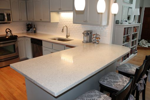Custom Made Hand Made Concrete Countertop