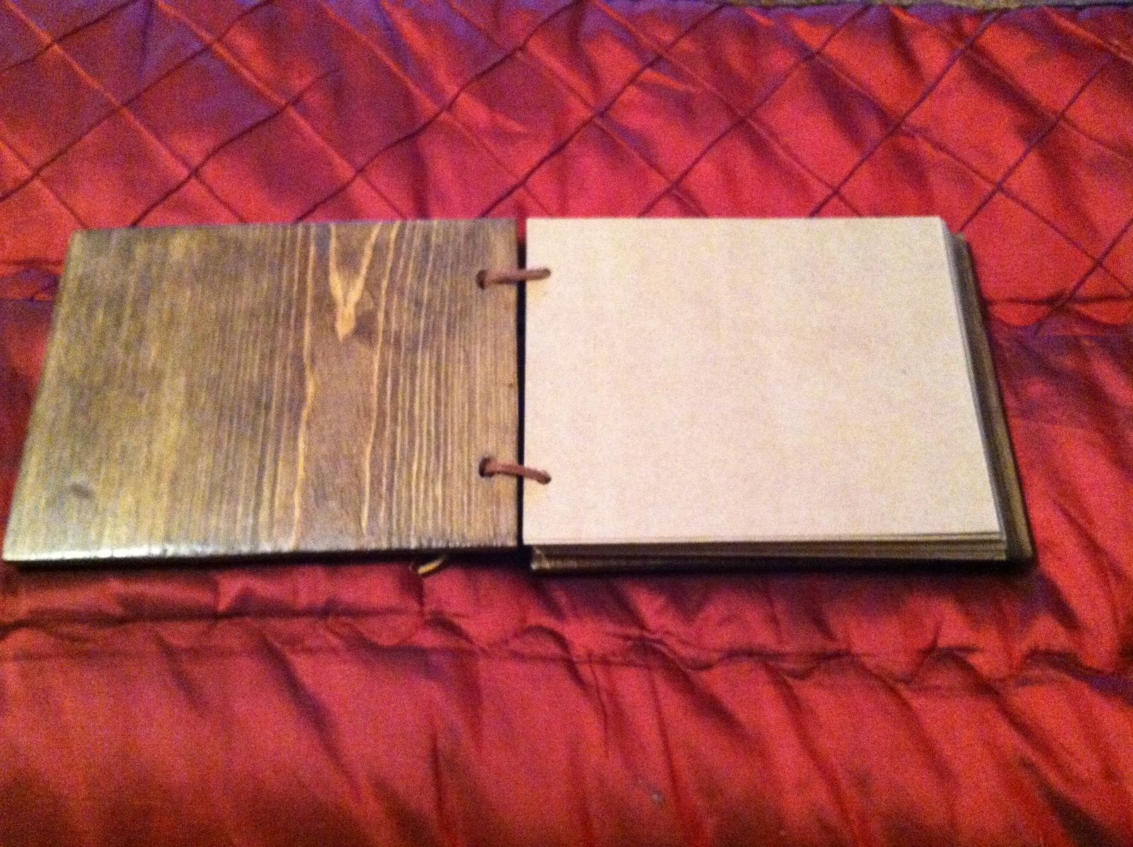 Hand Made Kristes Wooden Or Metal Cover Scrapbook By Bc Creative