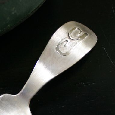 Custom Made A Sterling Spoon For Gilbert