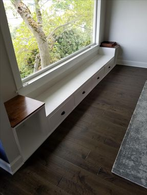 Custom Made Built In Bench W/ Storage