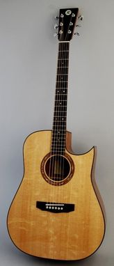 Custom Made Sonic Sitka Dreadnought Acoustic Guitar