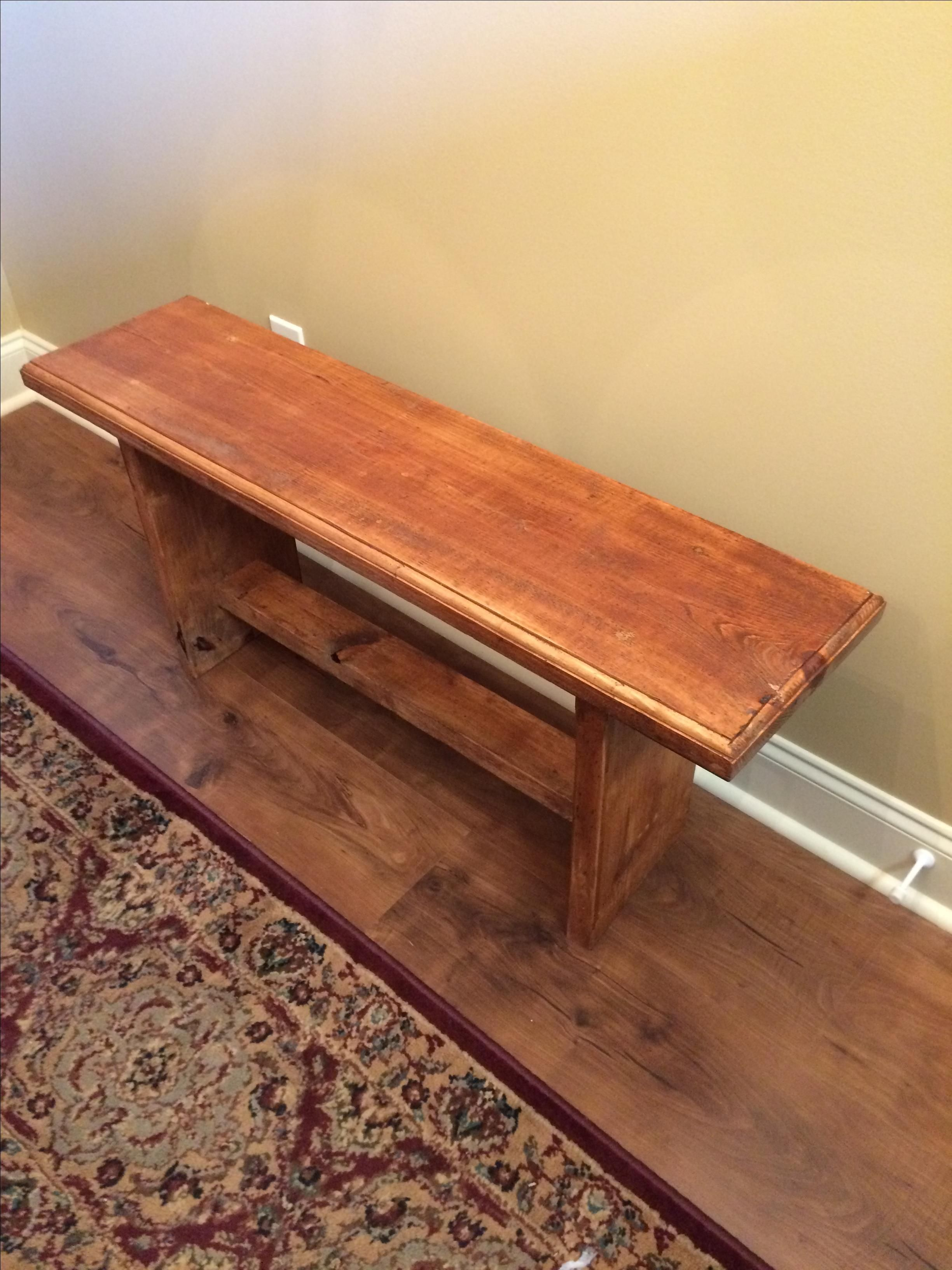 Pleasing Buy A Custom Bench Benches 40 Inch Bench Stained In Ibusinesslaw Wood Chair Design Ideas Ibusinesslaworg