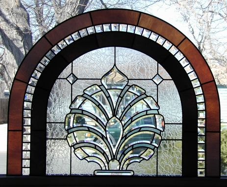 Custom Made Custom Beveled Glass Window
