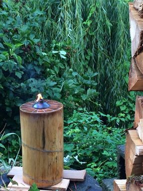 Custom Made Tiki Torch Log