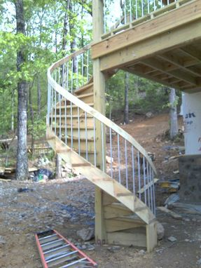 Custom Made Spiral Staircase Kit