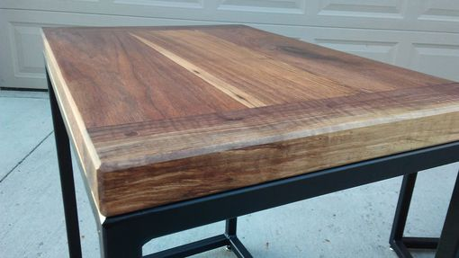 Custom Made Walnut End Table Set