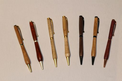 Custom Made Hand Made Custom Wooden Pens