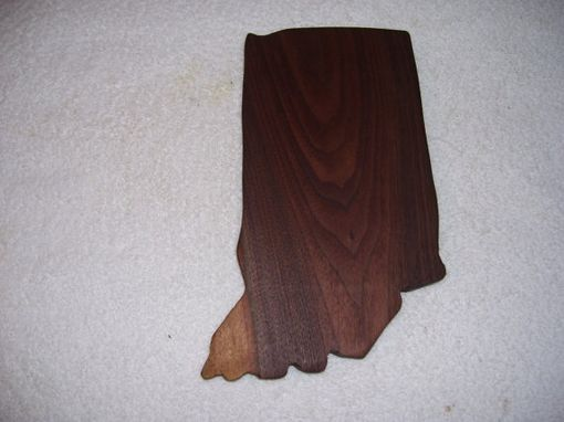 Custom Made Indiana State Cheese And Cracker Cutting Board
