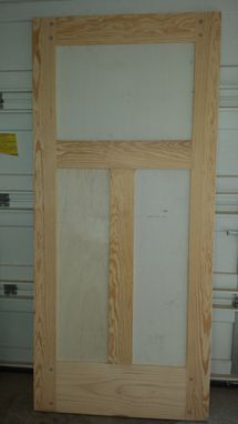 Custom Made Handmade Interior Door
