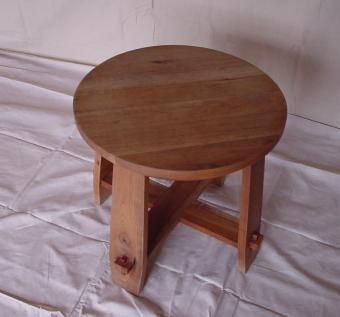Custom Made Cherry End Table