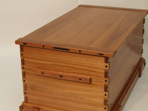 Custom Made Greene And Greene Blanket Chest