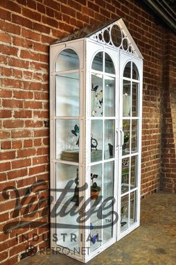 Custom Made Vitrine Display Cabinet