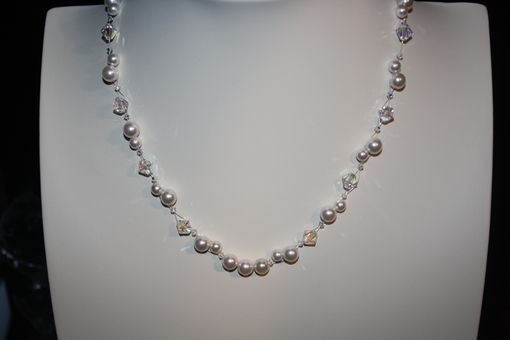 Custom Made Pearls And Sparkle For The Bride