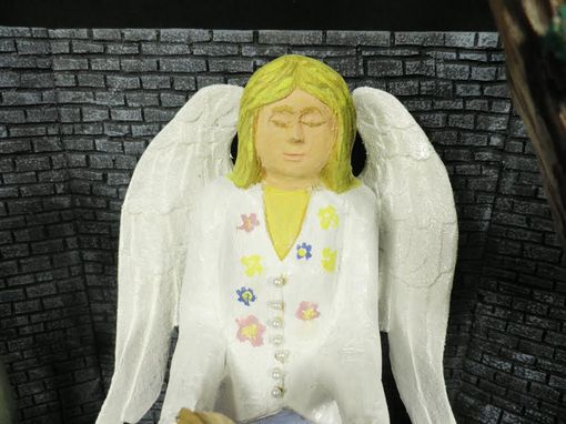 Custom Made Babette Angel Diarama