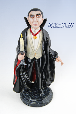 Custom Made Custom Figurine Sculpture With Small To Medium Prop