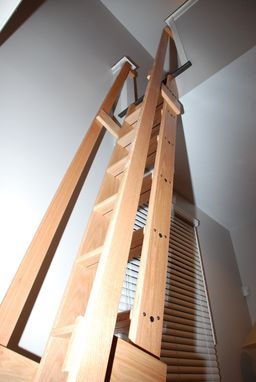 Custom Made Loft/Library Ladder