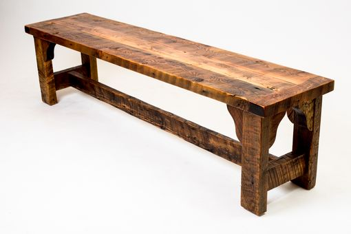 Custom Made Rustic Victorian Bench