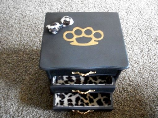 Custom Made Vintage Jewelry Box Re-Finished
