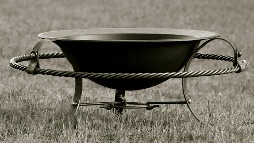 Custom Made Southern Comfort 45 Fire Bowl